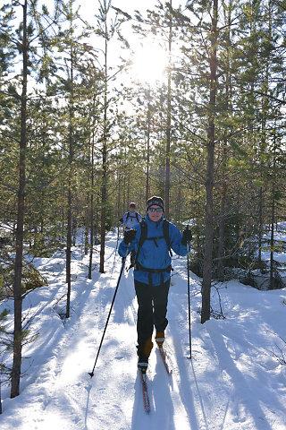 Karelien - Langlaufen